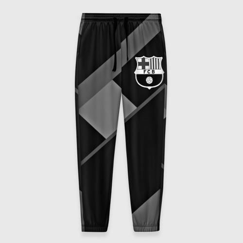 Мужские брюки 3D FC Barcelona gray collection