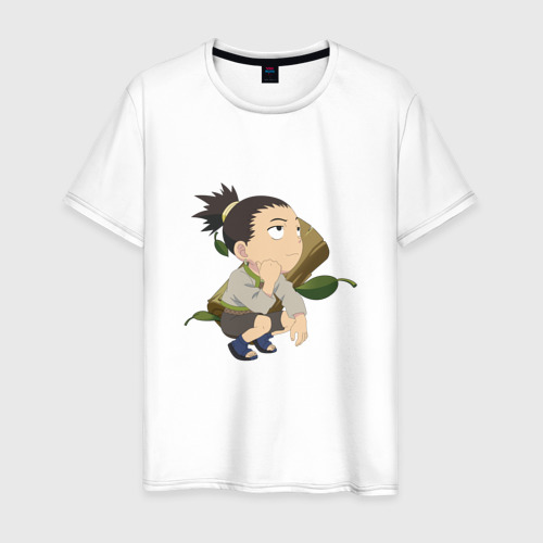 Мужская футболка хлопок Nara Shikamaru