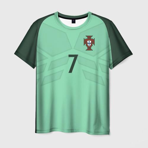 Мужская футболка 3D Ronaldo away 17-18