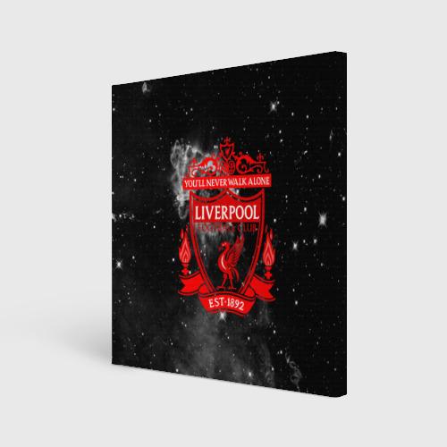 Холст квадратный FC LIVERPOOL