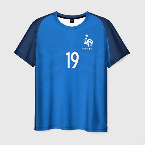 Мужская футболка 3D Pogba home