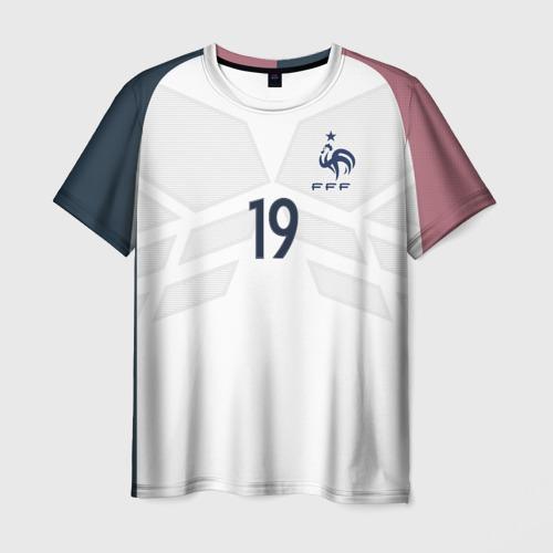 Мужская футболка 3D Pogba away 17-18