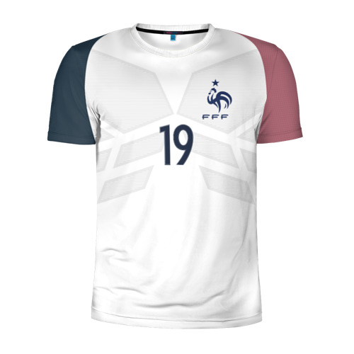 Мужская футболка 3D спортивная Pogba away 17-18