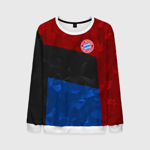 Мужской свитшот 3D FC Bayern 2018 Abstract colors