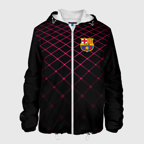 Мужская куртка 3D FC Barcelona 2018 Line