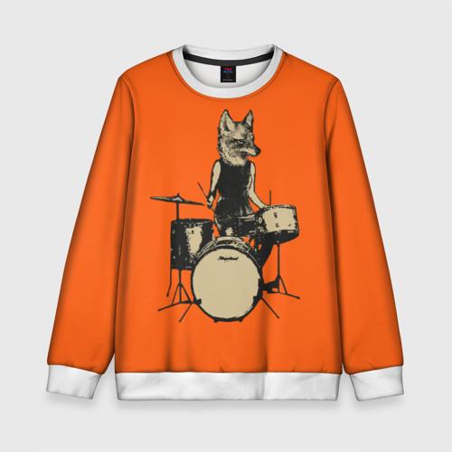 Детский свитшот 3D Drums