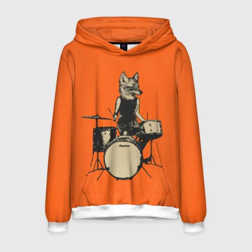 Мужская толстовка 3D Drums