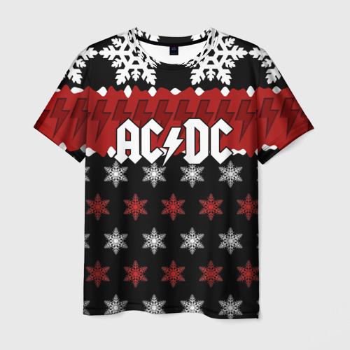 Мужская футболка 3D Праздничный AC/DC
