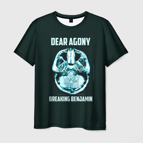 Мужская футболка 3D Dear Agony, Breaking Benjamin