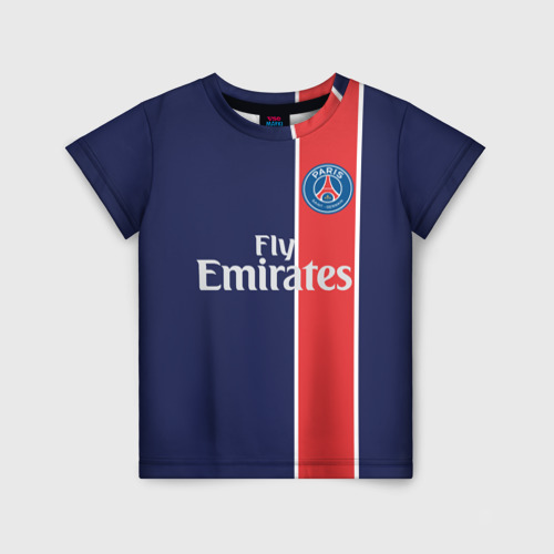 Детская футболка 3D PSG 2018 Original 1