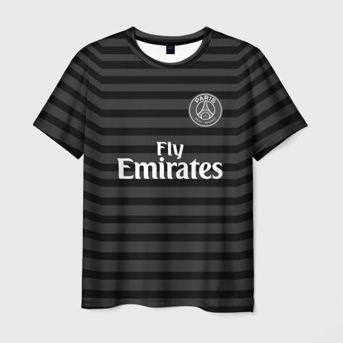 Мужская футболка 3D PSG 2018 Original 4