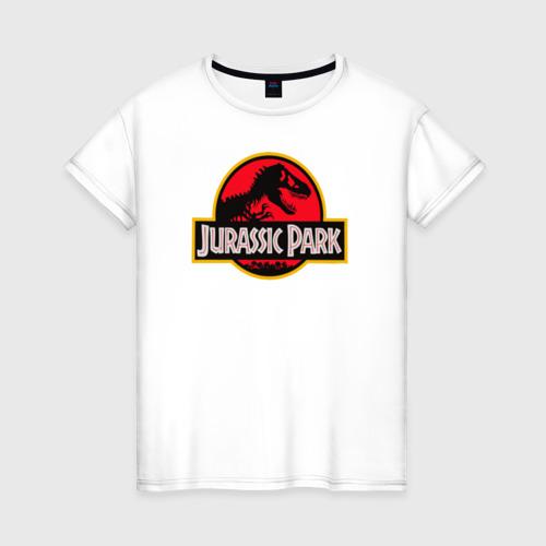 Женская футболка хлопок Парк Юрского Периода