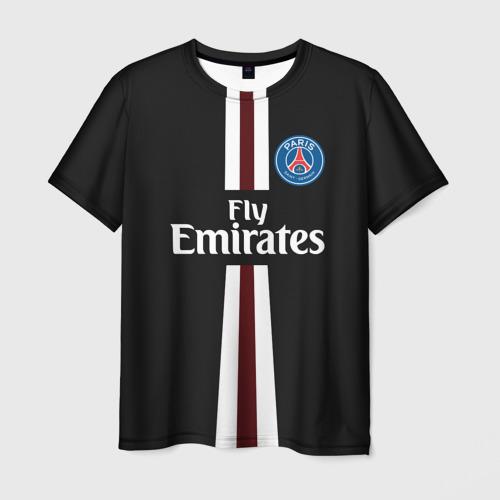 Мужская футболка 3D PSG 2018 Original 15