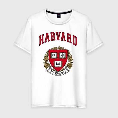 Мужская футболка хлопок Harvard university