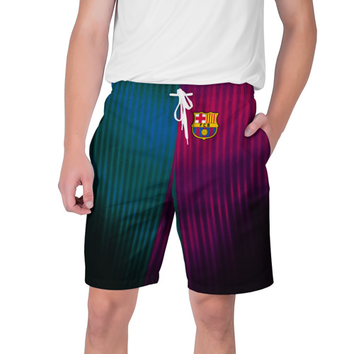 Мужские шорты 3D FC Barcelona 2018 abstract