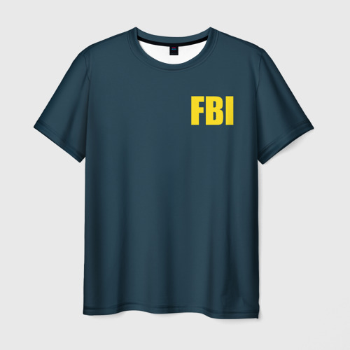 Мужская футболка 3D FBI