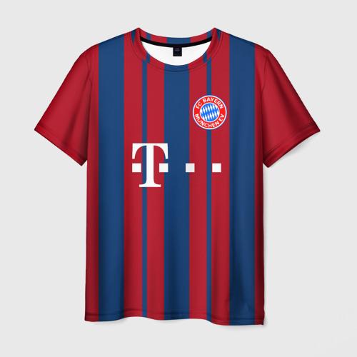 Мужская футболка 3D FC Bayern 2018 Original 8