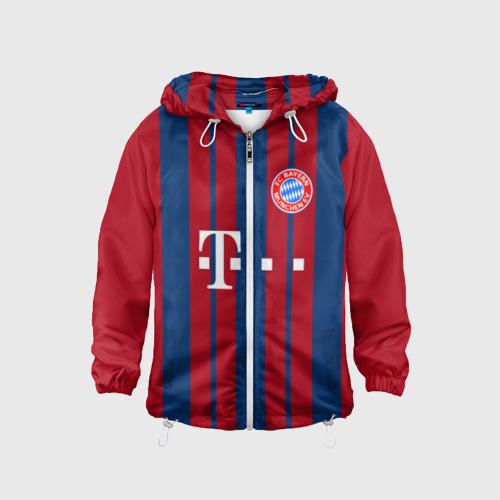 Детская ветровка 3D FC Bayern 2018 Original 8