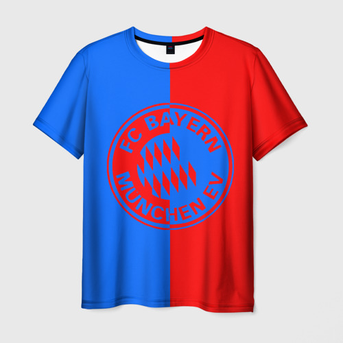 Мужская футболка 3D FC Bayern 2018 Original 9