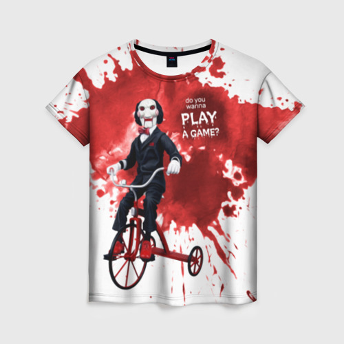 Женская футболка 3D Billy
