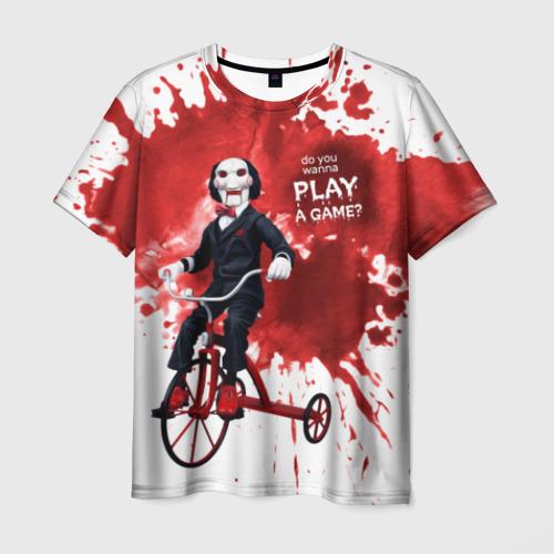 Мужская футболка 3D Billy