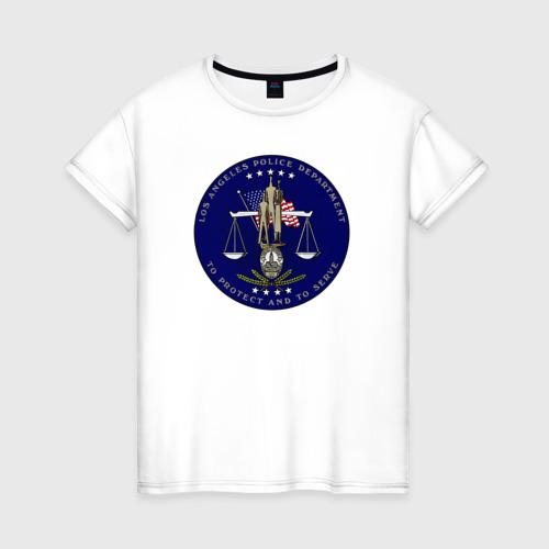 Женская футболка хлопок LAPD
