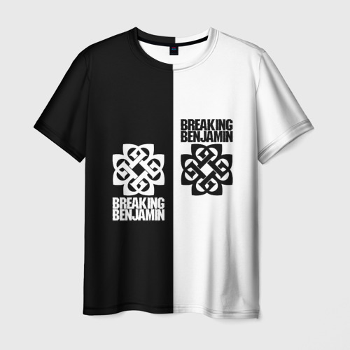 Мужская футболка 3D Breaking Benjamin