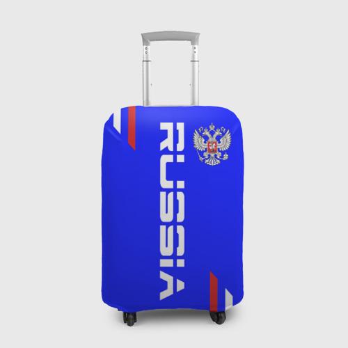 Чехол для чемодана 3D Russia надпись и герб