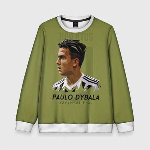 Детский свитшот 3D Paulo Dybala Juventus FC