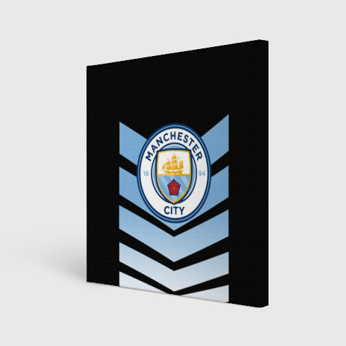 Холст квадратный Manchester city 2018 Arrow