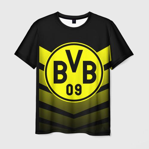 Мужская футболка 3D FC Borussia 2018 Original 15
