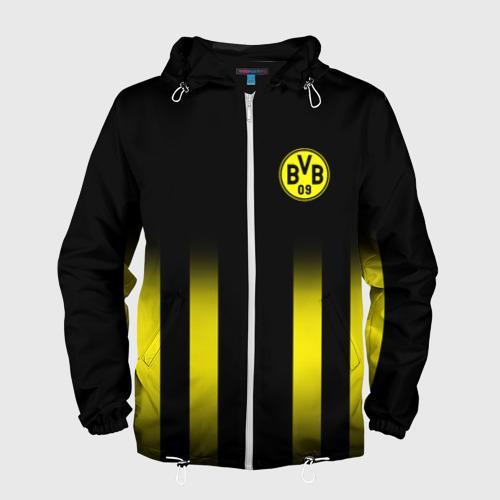 Мужская ветровка 3D FC Borussia 2018 Line