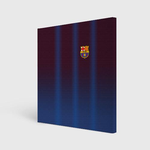 Холст квадратный FC Barcelona Gradient