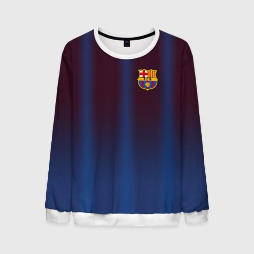 Мужской свитшот 3D FC Barcelona Gradient