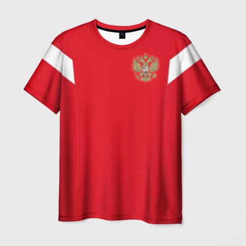Мужская футболка 3D Россия чемпионат мира 2018