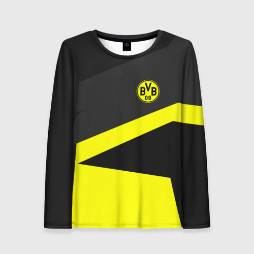 Женский лонгслив 3D Borussia 2018 Geometry Sport