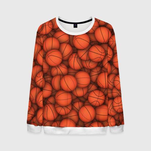 Мужской свитшот 3D Баскетбольные мячи