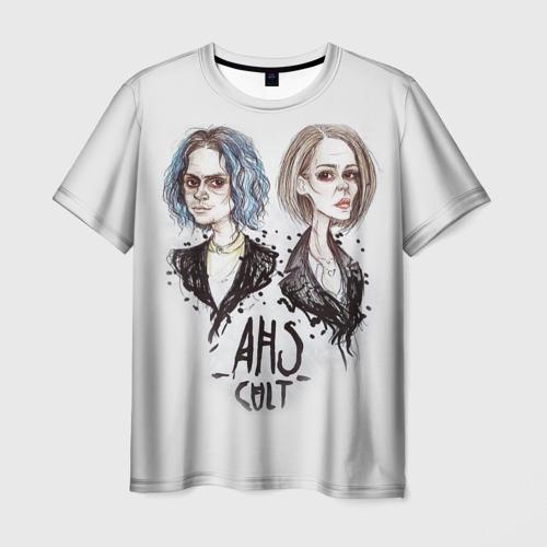 Мужская футболка 3D AHS 7 Cult