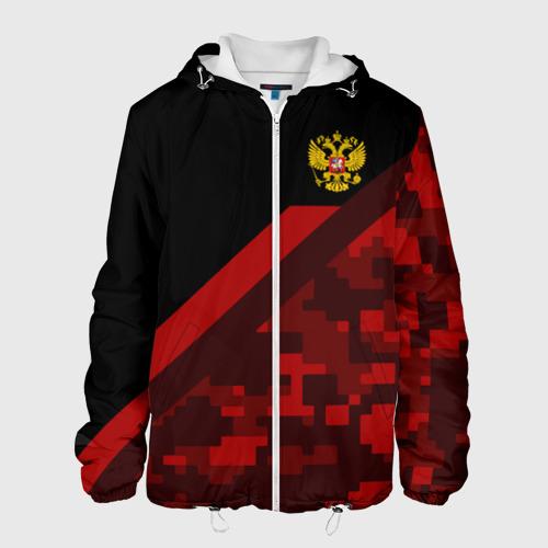 Мужская куртка 3D RUSSIA - Black Collection