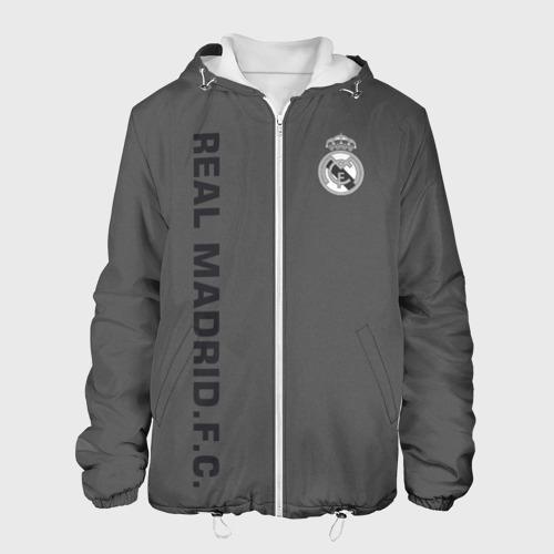 Мужская куртка 3D Real Madrid 2018 Vintage