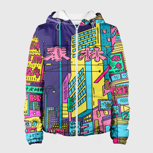 Женская куртка 3D Токио