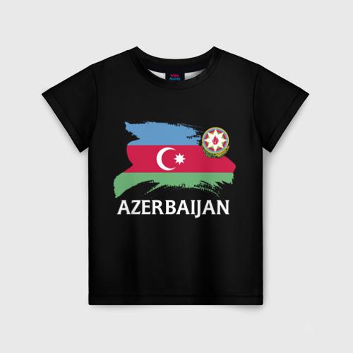 Детская футболка 3D Азербайджан
