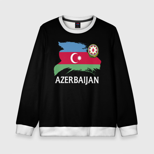Детский свитшот 3D Азербайджан