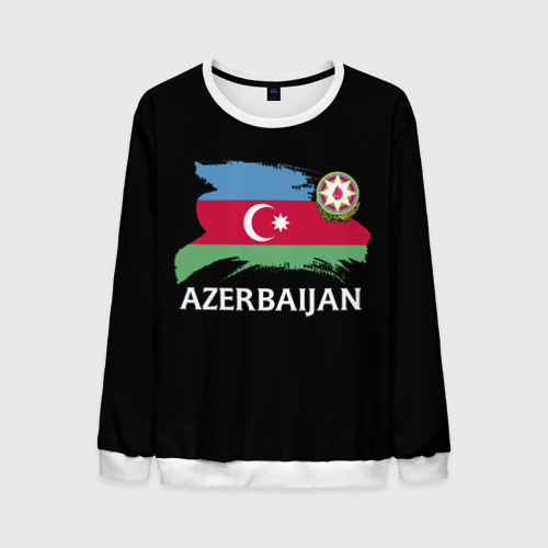 Мужской свитшот 3D Азербайджан