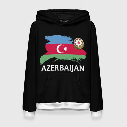 Женская толстовка 3D Азербайджан