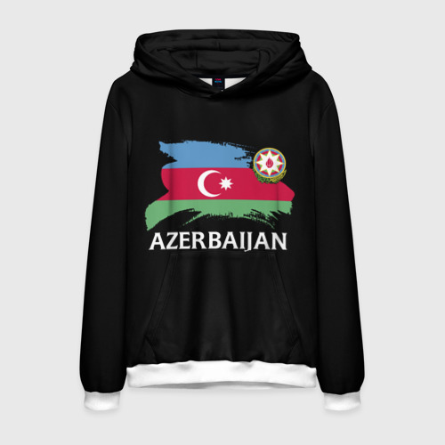 Мужская толстовка 3D Азербайджан