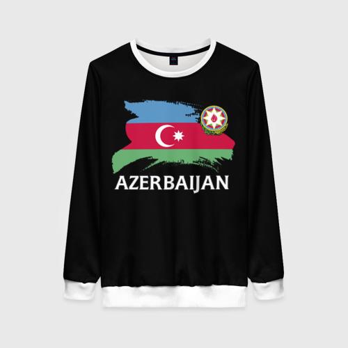 Женский свитшот 3D Азербайджан