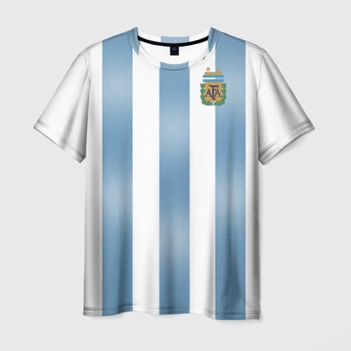 Мужская футболка 3D Аргентина ЧМ 2018