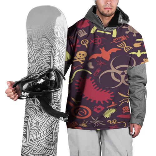 Накидка на куртку 3D Био pattern