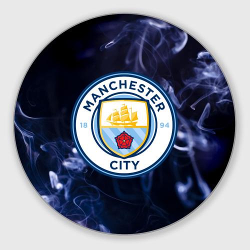 Коврик для мышки круглый Манчестер Сити